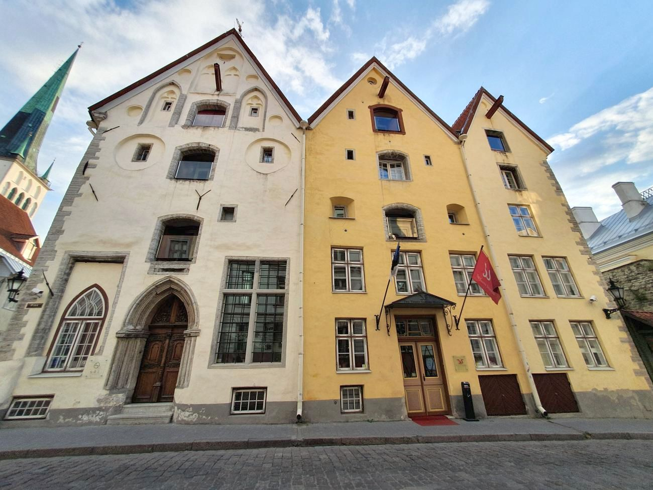 The Three Sisters is well known boutique luxury hotel in Tallinn Old Town