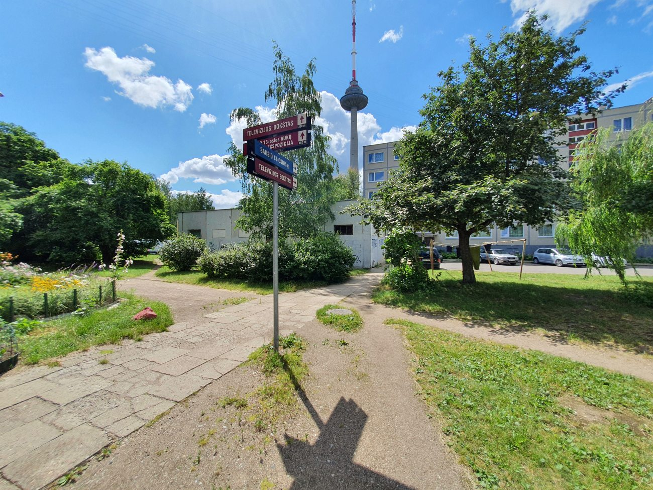 sign-pointing-to-vilnius-tv-tower-museum-and-restaurant